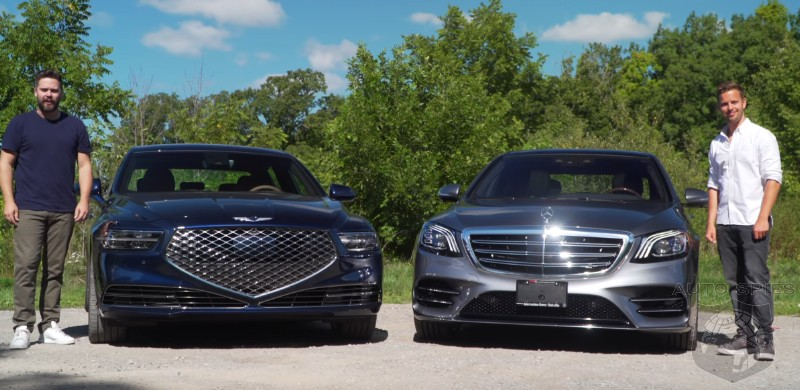 CAR WARS! Head To Head: Genesis G90 Squares Up Against The Mercedes-Benz S560