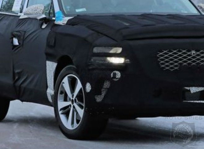 SPIED! Hyundai's Luxury Division, Genesis, FINALLY Makes Progress With Its SUV, The GV80