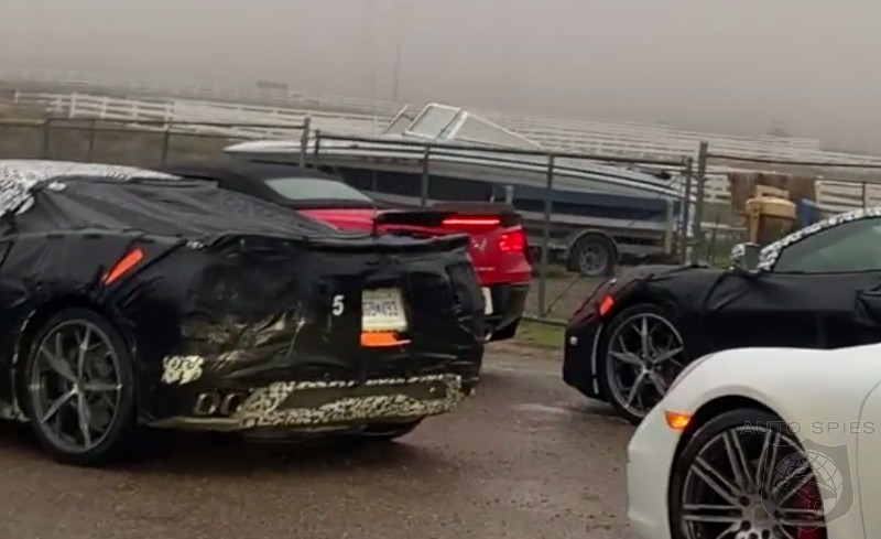 EXCLUSIVE! SPIED! The Mid-engine, C8 Chevrolet Corvette Gets Ready For Its Close Up In This KILLER Video