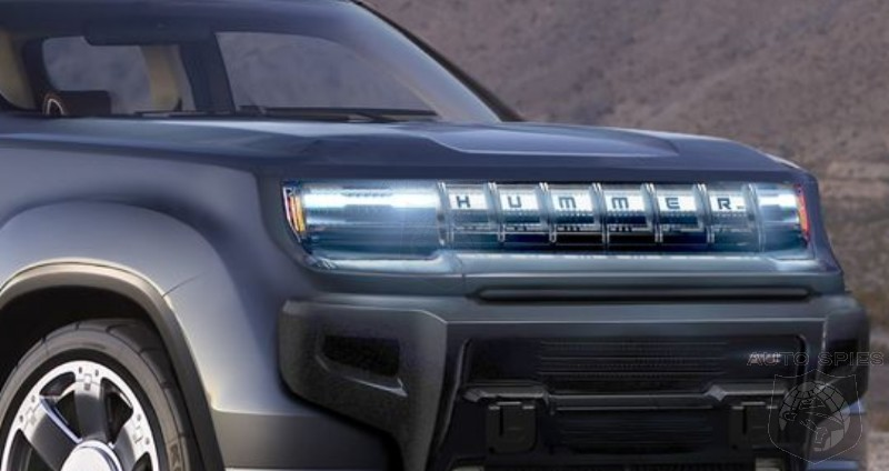 RENDERED! IF The All-new GMC Hummer EV Looks Like THIS, Is It DOA Against Tesla's Cybertruck?