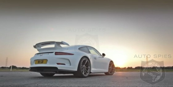 SPIED + VIDEO: Porsche's Upcoming 991 GT3 Is Caught On Camera