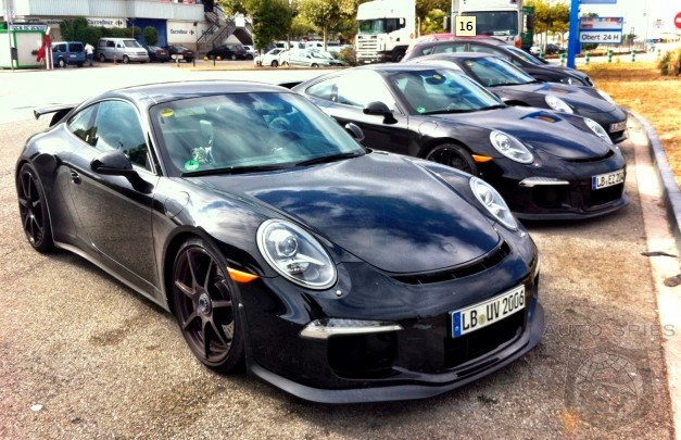 SPIED + VIDEO: Porsche's 991 GT3 Convoy Caught On Camera + In Action - More PDK Confirmation?
