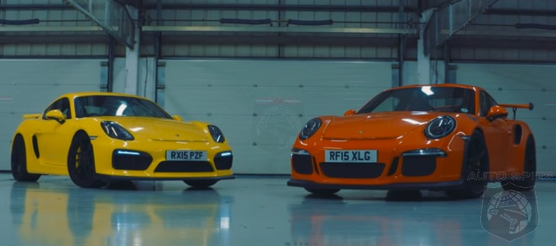 CAR WARS! Sibling Rivalry Edition — Is The Porsche 911 GT3 RS TWICE The Car Of The Cayman GT4?