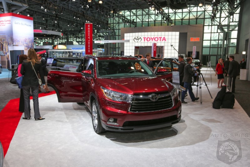 NEW YORK AUTO SHOW: Is Toyota's All-New Highlander Taking The Brand To NEW Highs?
