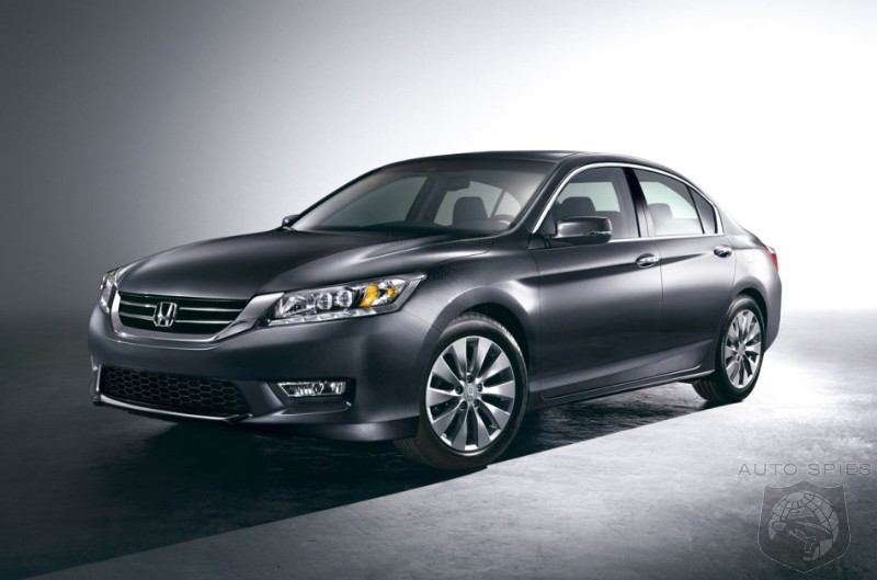 STUD or DUD: The FIRST Images Of The 2013 Honda Accord Sedan & Coupe Hit The 'Net - Are Its Updates Enough?
