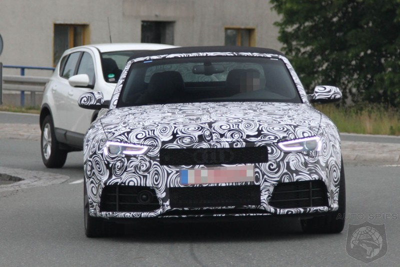SPIED: MORE All-New Pictures Of The 2014 Audi RS5 Convertible