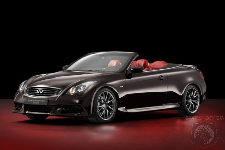 NEW YORK AUTO SHOW: Does Infiniti's IPL G Convertible Stand A Chance Against The BMW 335is And AUDI S5?