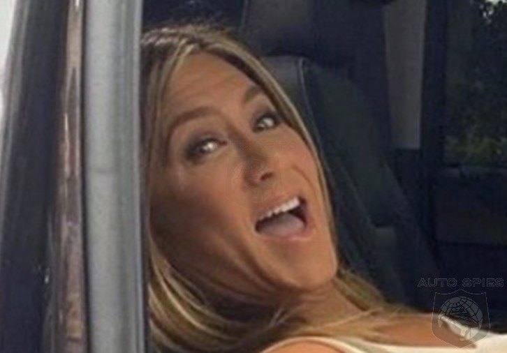Jennifer Aniston Finally Makes A Chevy Look HOT And Gives Us A Reason To Get Into The BACKSEAT!