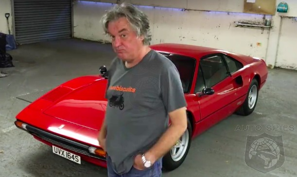 VIDEO: The Grand Tour's James May Gives Us A Walkaround Of His Ferrari 308 — Maybe He Took it Too Literally?