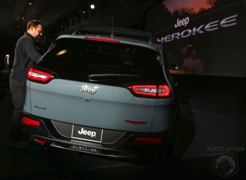 NEW YORK AUTO SHOW: The Biggest Underdog At The SHOW May Have Just STOLE It — The 2014 Jeep Cherokee