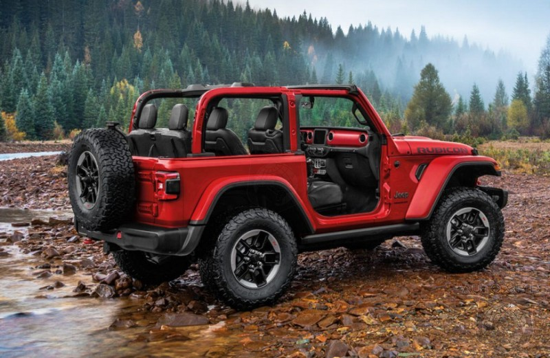 WHAT IF? Which Would Sell More? A Jeep Wrangler With A V8 Or The 2.0-liter, Four-Cylinder Model?