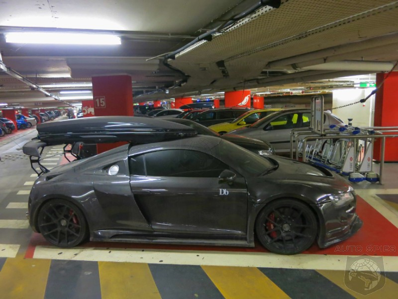 GENEVA MOTOR SHOW: SPIED! Jon Olsson's Audi R8 — If It's Possible To Make An R8 Hideous, This Is The Way