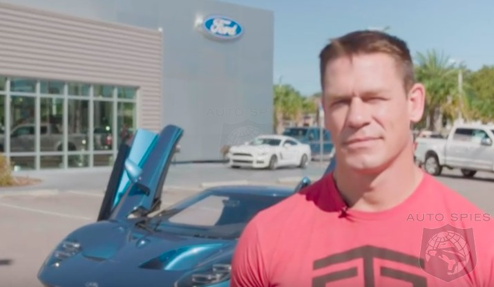 DRIVEN + VIDEO: WWE Superstar, John Cena, Gives Us HIS Take On The All-new Ford GT