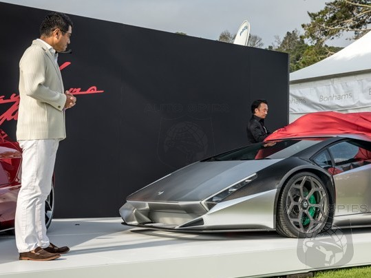 PEBBLE BEACH: Ferrari Enzo Designer, Ken Okuyama, Reveals The Kode 0 — Are You IMPRESSED Or DEPRESSED This Use To Be An Aventador?