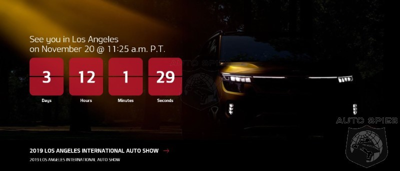 #LAAutoShow: Kia Set To Reveal All-new SUV In SoCal And A Spy Pinpoints What It May Be...