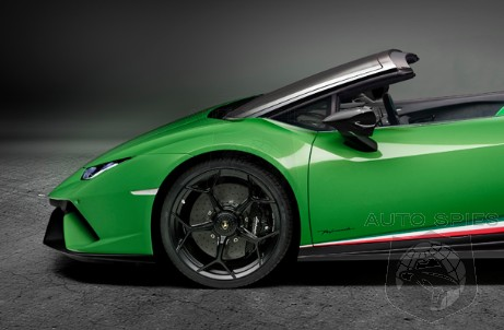RENDERED SPECULATION: Does This Artist's Depiction Of The Lamborghini Huracan Performante Spyder Have You GREEN With Envy?
