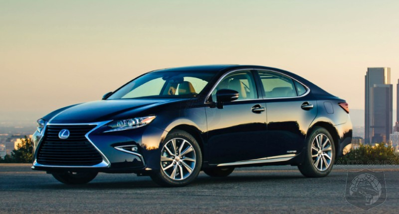 RUMOR: All-New Lexus ES To Pick Up Where The GS Gets Left Off?