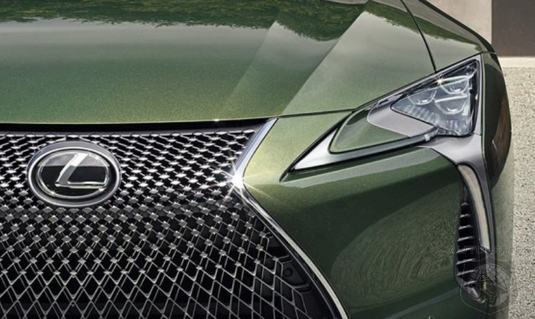 #MONTEREYCARWEEK: Lexus Unveils Its GREEN Machine — Another Take On Its LC500