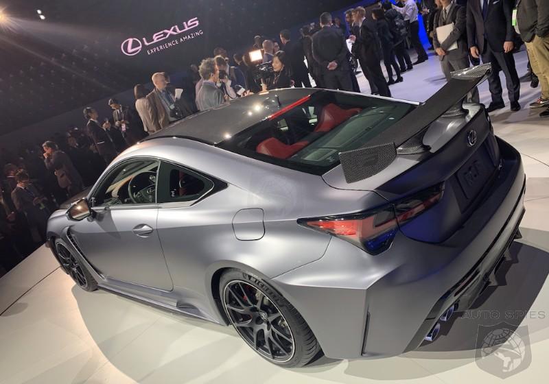 #NAIAS: Lighter, Faster And Louder, The 2020 Lexus RC F Track Edition Gives This V8 Coupe Some SIZZLE