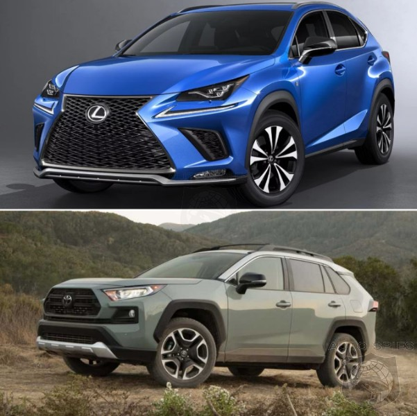 SUV WARS! WHICH Would You Rather? The Lexus NX Or Toyota RAV4?