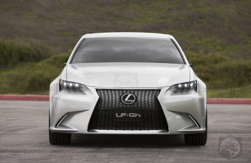 Is Lexus Next Up To Build A Premium Four Door Coupe Autospies
