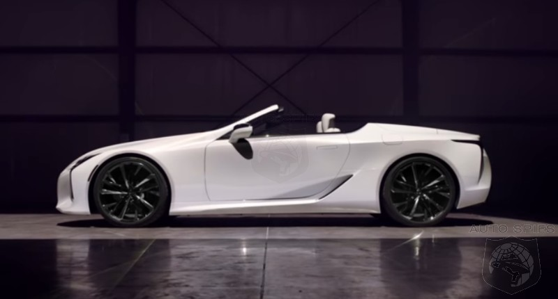 #NAIAS: Lexus Turns Up The HEAT With Its All-new LC Convertible Concept — Would YOU Give This The GREEN Light?