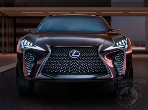 Will The Three-row Lexus RX Be Joined With The All-new Production UX At The Tokyo Motor Show?