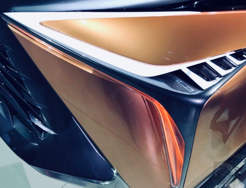 #NAIAS: Up Close And PERSONAL With The Lexus LF-1 Limitless — Detailed, INSIDE and OUT!