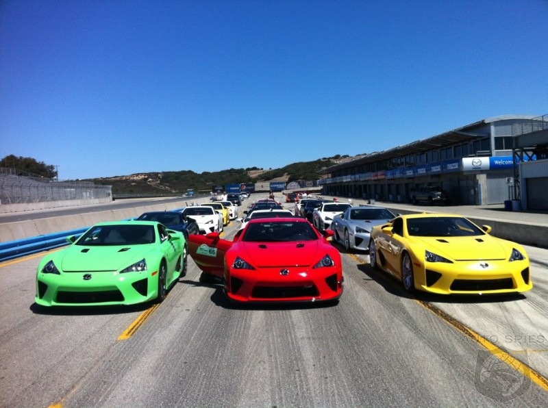VIDEO: Lexus Hosts An EXCLUSIVE Gathering At Laguna Seca For LFA Owners