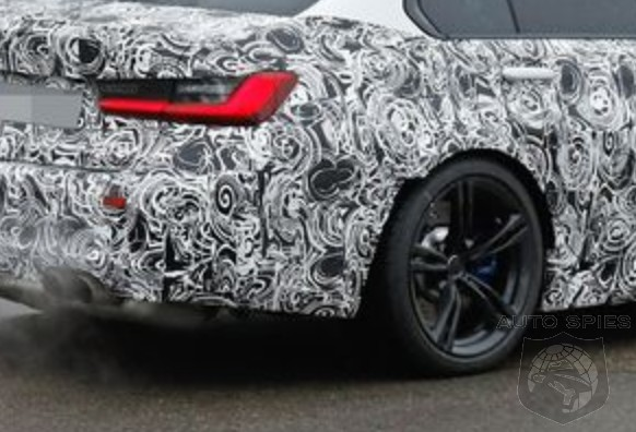 SPIED: All-new Spy Shots Of The Next-gen BMW M3 — LOW, WIDE And QUAD Tipped