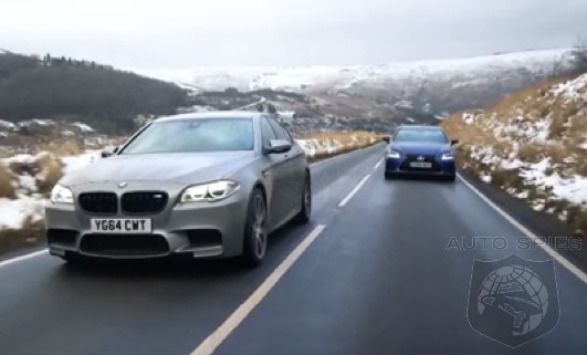 CAR WARS! Can Chris Harris Discover SOMETHING About The Lexus GS F That Makes It Suitable To Take On The Mighty BMW M5?