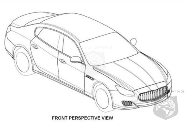 RUMOR: Has The Next-Gen Maserati Quattroporte's Design Been LEAKED via Patent Filings?