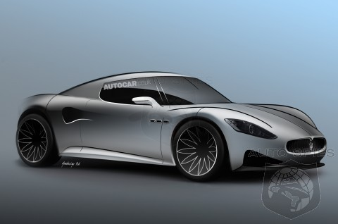 RENDERED SPECULATION: Maserati Taking DEAD Aim On The Porsche 911