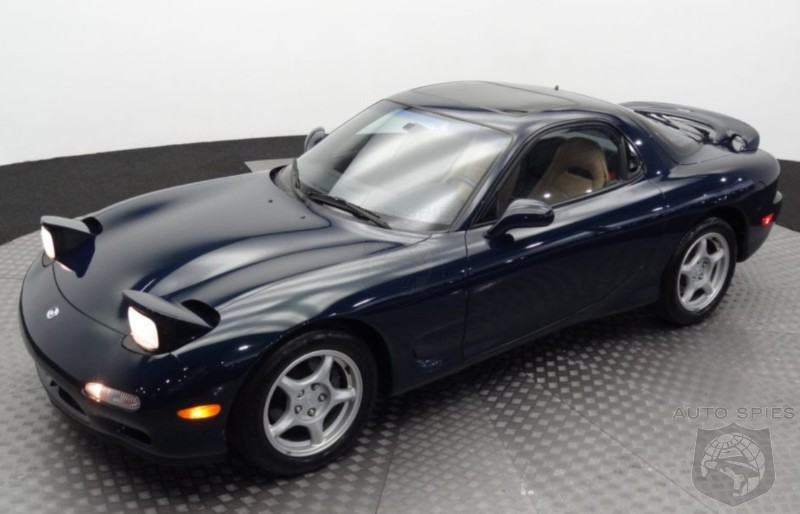 1994 Mazda RX-7 With 4,600 Miles Goes For UNTHINKABLE Price — Is It Worth It Or Are Buyers NUTS?