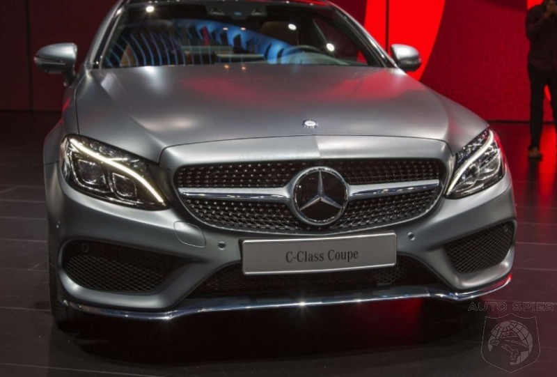 #IAA: REAL-LIFE Pics Of The All-New Mercedes-Benz C-Class Coupe — Is Audi, BMW, Cadillac, Lexus All In A World Of TROUBLE?