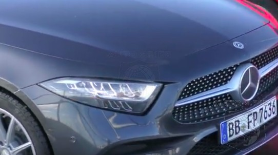 SPIED on the STREET! The All-new Mercedes-Benz CLS450 Gets Caught On Camera