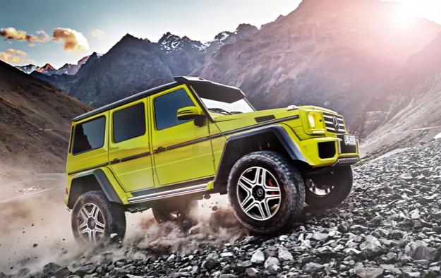OFFICIAL! It's Coming! Mercedes-Benz Is Bringing The G550 4x4 To The States!