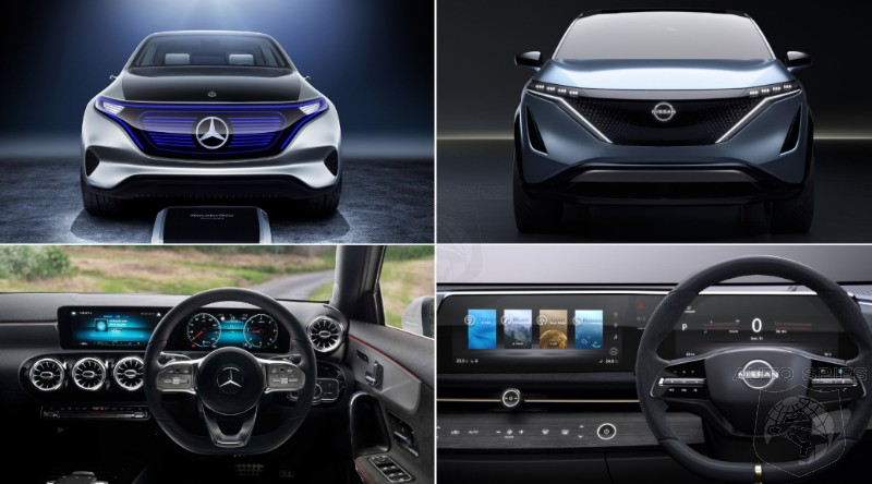 Is Nissan's Ariya Concept A SIGN OF LIFE Or Simply A LOVE Letter To Mercedes?