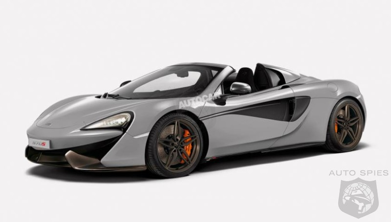 RENDERED SPECULATION: CONFIRMED! The McLaren Sport Series 570S Will Gain A Folding Hard-Top Spider Version