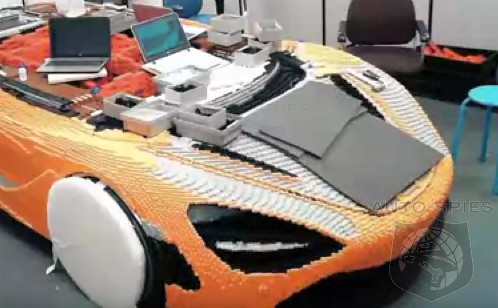 VIDEO: How It's Made — 2,000 Man Hours To Build A LEGO McLaren 720S, In ONE Minute