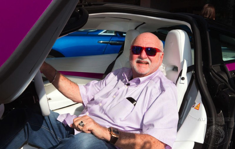 The Man Behind The Pastel Rolls-Royces, McLarens, Etc. — Michael Fux, The Most Interesting Man In The Car World