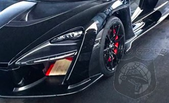 SPIED on the STREET! How Do YOU Like Me Now? McLaren's All-new Senna Spotted In Black
