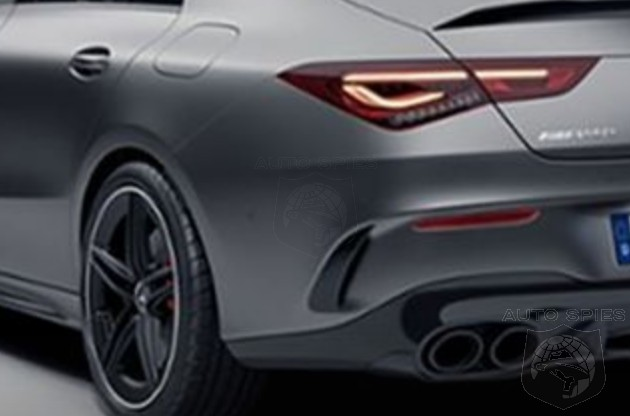 LEAKED! The All-new Mercedes-AMG CLA45 Gets Revealed By An Internal Gaffe