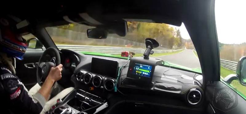 VIDEO: The All-New Mercedes-AMG GT R CRUSHES The Green Hell, Sets Blistering Lap Time