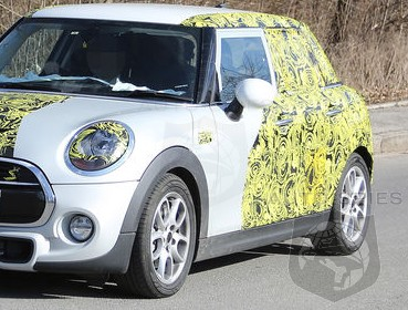 SPIED: For People TIRED Of MINI's Offerings, Will A Cooper FIVE DOOR Get People JUICED UP About The Brand?