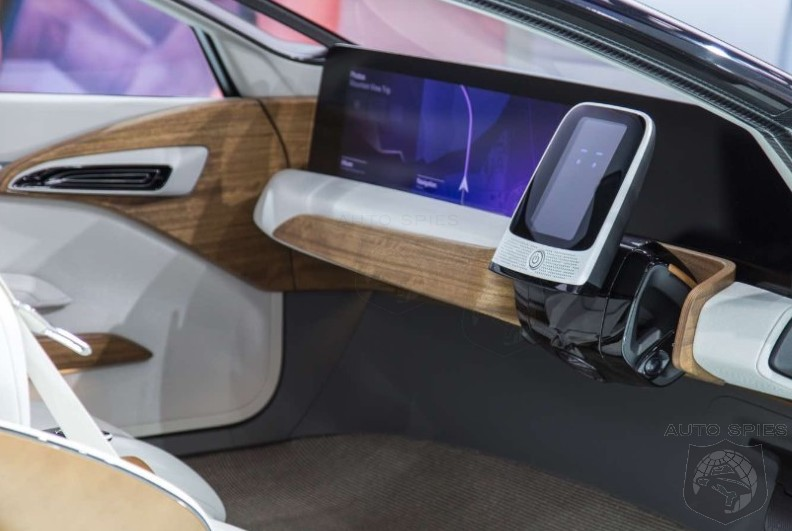 #NAIAS: A Driving Experience Like None Other — Get A Look At The Nissan IDS Concept's Take On The Steering Wheel