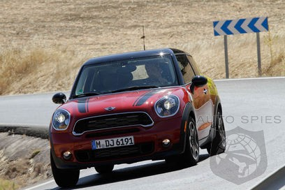 DRIVEN: MINI's Upcoming Paceman Makes An Early Impression But Leaves Some Media Asking