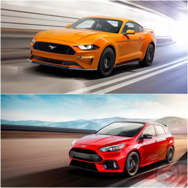 WHICH Is The STUD And WHICH Is The DUD? Ford Mustang vs Ford Focus RS
