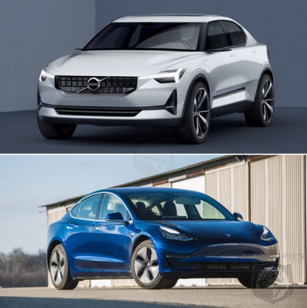 Based On LOOKS Alone, Does The Polestar 2 Stand A Chance Against The Tesla Model 3?