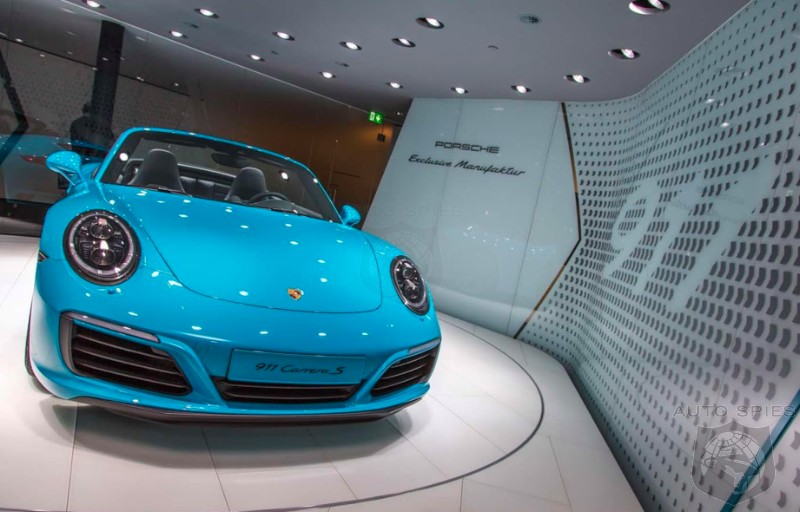 #IAA: AWESOME or AWFUL? How Do YOU Like The Porsche 911 In MIAMI BLUE?